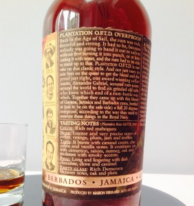 Plantation OFTD Dark rum review by the fat rum pirate