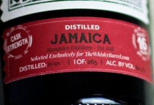 Kill Devil Jamaica Hampden Estate Aged 16 Years - The Whisky Barrel Exclusive Rum Review by the fat rum pirate