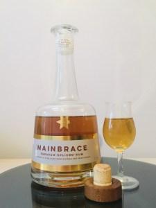 Mainbrace Premium Spliced Rum review by the fat rum pirate