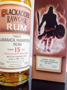 Blackadder Hampden Estate 15 Rum Review by the fat rum pirare raw cask