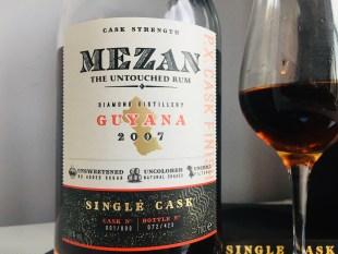 Mezan Diamond Distillery Guyana 2007 P.X. Cask Finish Rum review by the fat rum pirate