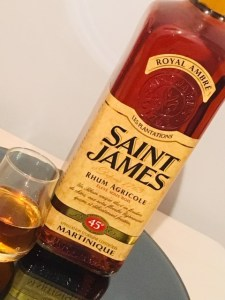 Saint James Royal Ambre 45% Rum Review by the fat rum pirate