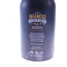 Infamous no1 rum spiced rum review by the fat rum pirate