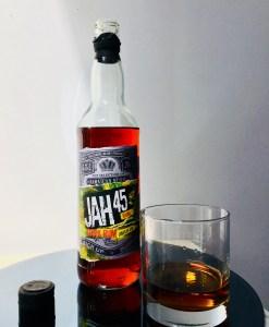 JAH 45 Jamaican Rum Dark Rum Review by the fat rum pirate