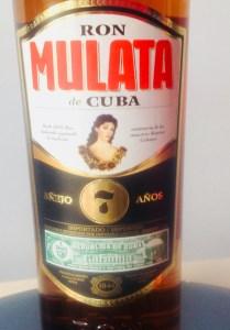 Ron Mulata de Cuba Anejo 7 Anos