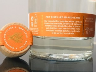 Ninefold Scottish Pot Still Pure Single Rum review by the fat rum pirate