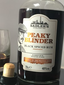Peaky Blinder Black Spiced Rum Review by the fat rum pirate