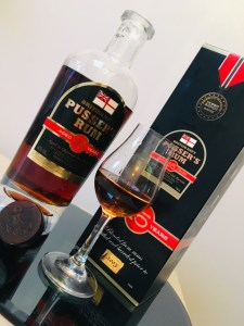 Pusser's 15 Year Old 2018 Re Blend rum review by the fat rum pirate