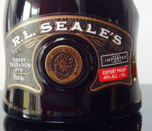 RL Seales 10 Year Old Rum Review by the fat rum pirate