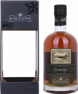 Rum Nation Caroni 1999 Rum Review by the fat rum pirate