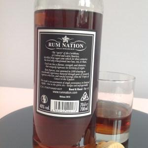 Rum nation Solero No14 Demerara Rum Review by the fat rum pirate
