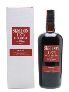 Velier Skeldon 1973 Full Proof Old Demerara Rum by the fat rum pirate