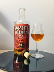 Spice Hunter Boldest Spiced Rum Review by the fat rum pirate