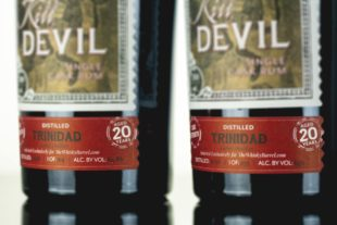 Kill Devil Trinidad Caroni Distillery Aged 20 Years 64.8% ABV The Whisky Barrel Exclusive