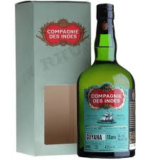 compagnie des indes 13 Guyana rum review by the fat rum pirate port mourant