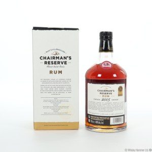 Chairman's Reserve 2005 Vintage Rum review by the fat rum pirate