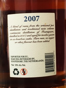 Foursquare Rum Distillery 2007 Rum Review by the fat rum pirate