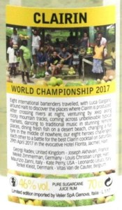 Clairin World Championship 2017 Rum Review by the fat rum pirate