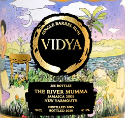 Vidya The River Mumma rum review by the fat rum pirate