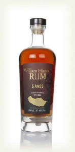 William Hinton Rum 6 Anos Rum review by the fat rum pirate