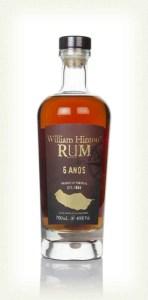 William Hinton Rum 6 Anos Rum review by the fat rum pirate