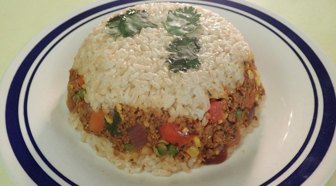 Vegan Arroz Tapado