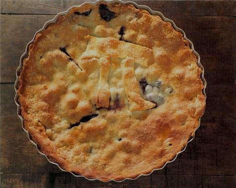 Blueberry Chocolate Chip Pie