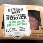 Beyond Meat Beyond Burger packaging