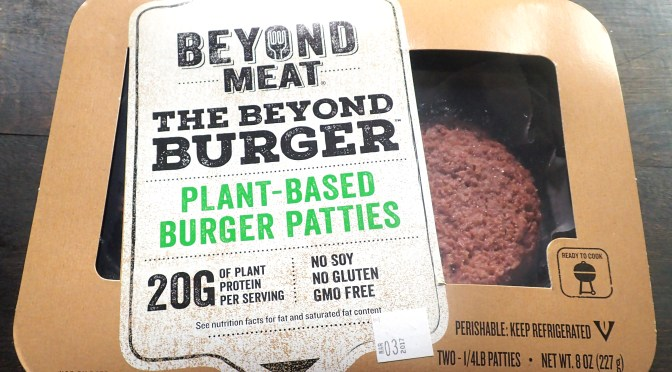 Beyond Meat Beyond Burger unboxing, tasting, and review