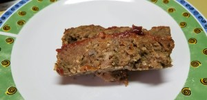 The Dirty Vegan Meatloaf.