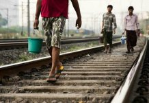 60 Dead Due To Constipation After Modi Government Bans Sitting On Railway Tracks