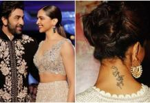 Deepika Not To Get Rid Off Of Her Permanent Ranbir Kapoor Tattoo, Says She Has 'Evolved'