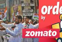 Congress Orders Laddoos via Zomato, Only 10% Reaches Them