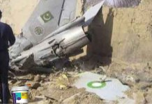 Pakistanis Caught Painting Tricolour On Its Shot Down F-16 Aircraft
