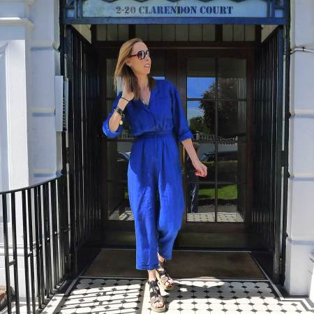 Marie Louise in American Vintage boiler suit fashion