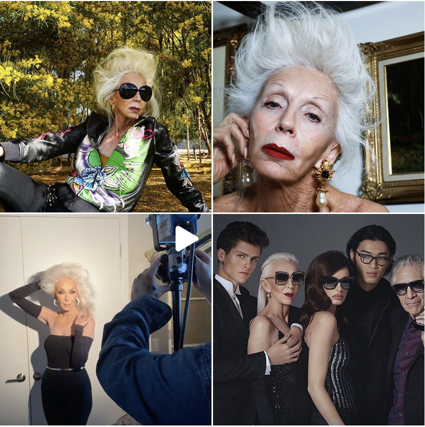 Fashion influencers of 50