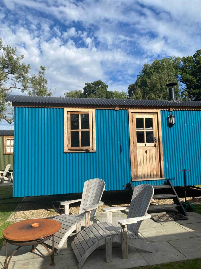 The best UK staycation The Merry Harriers Shepherds Huts