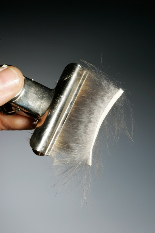 fur hackle spinning technique