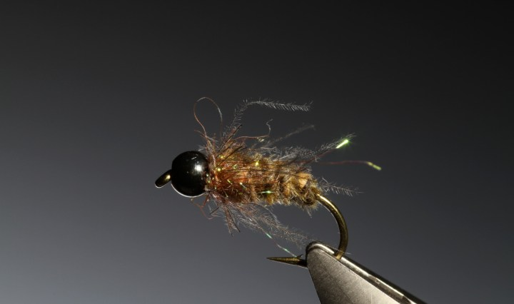CdC tungsten bead head nymph tied by Barry Ord Clarke
