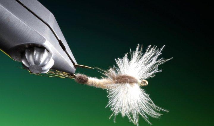 fly tying CdC mayfly spinner