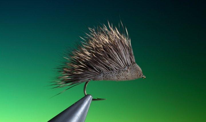 SedgeHog fly pattern tied by Barry Ord Clarke