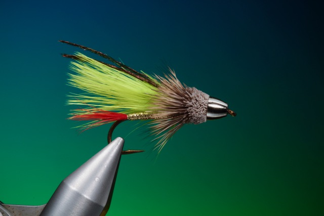 fly tying Marabou Muddler streamer