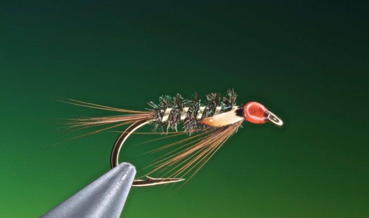 fly tying Diawl Bach Hot Head
