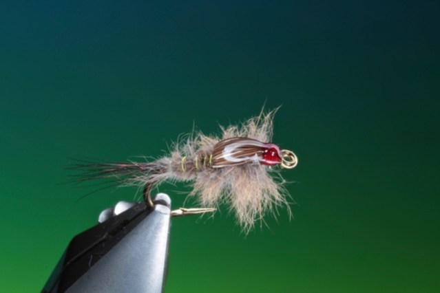 fly tying Muskrat Nymph