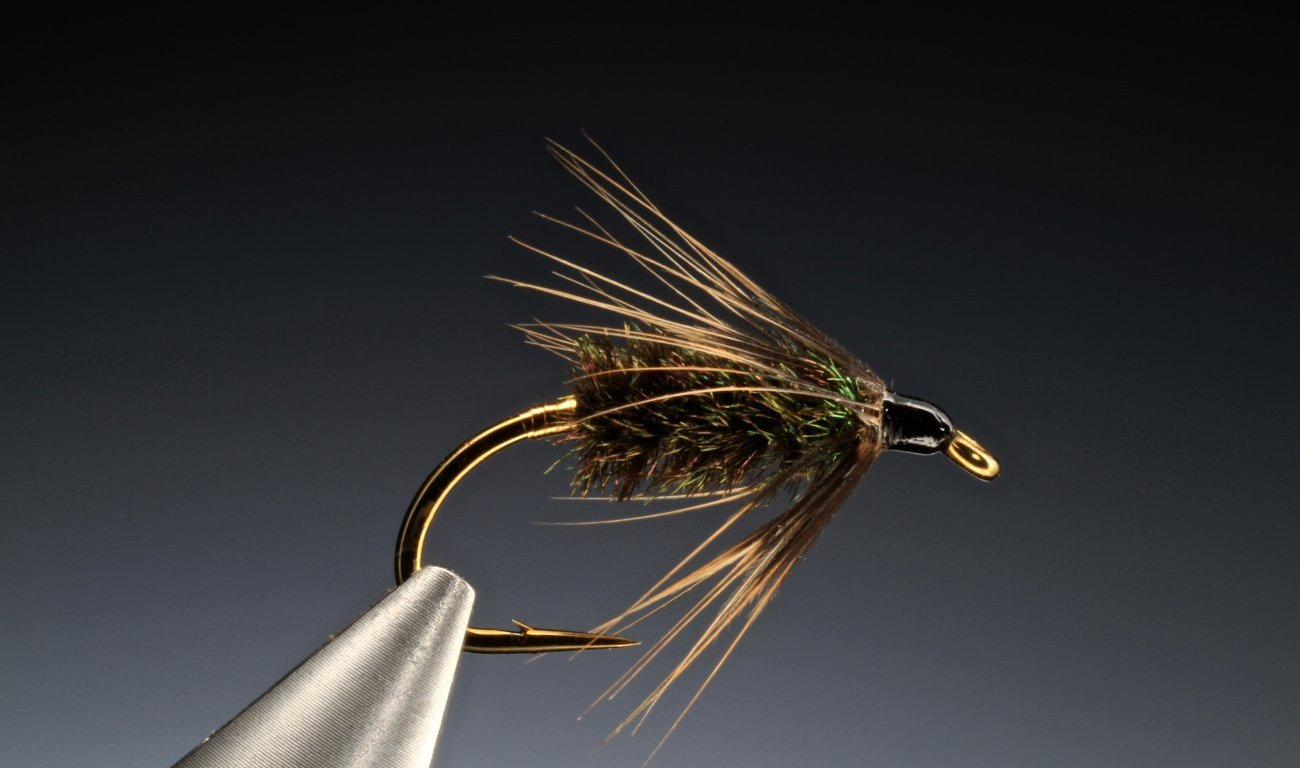 fly tying Coch-y-Bonddu wet fly
