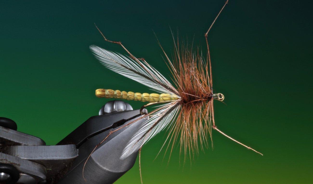 fly tying Deer hair daddy long legs