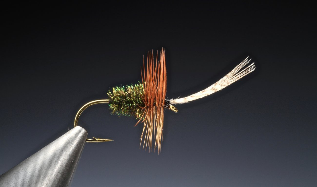 fly tying John Storey dry fly