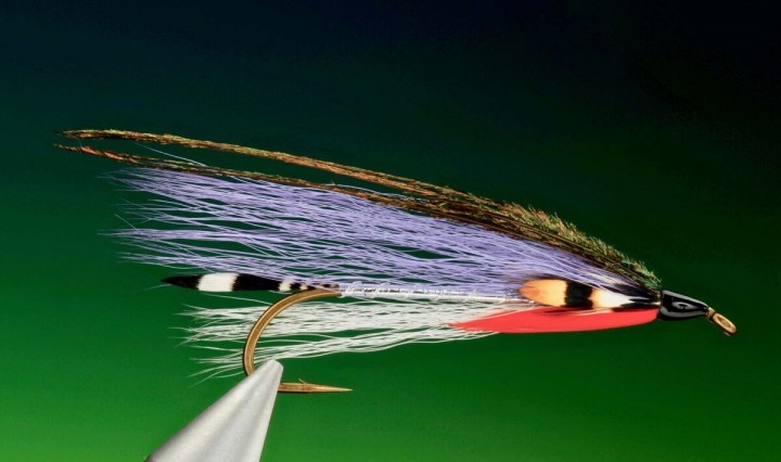Governor Aiken bucktail streamer tied by Barry Ord Clarke