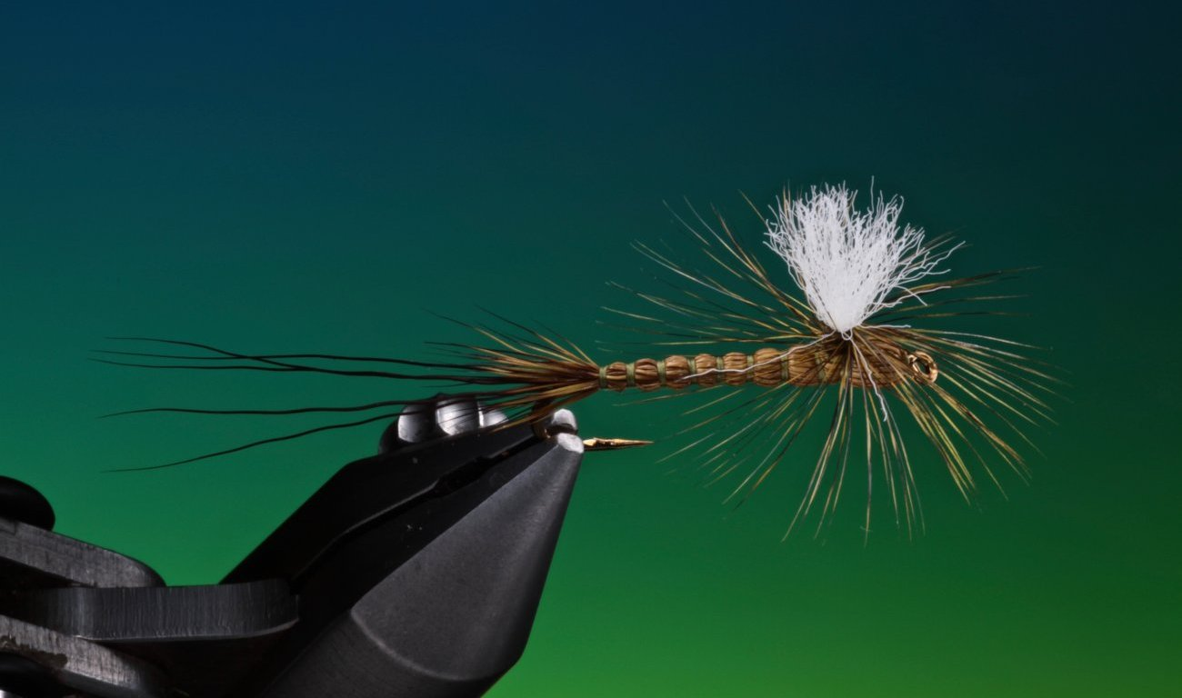 fly tying deer hair drake fly