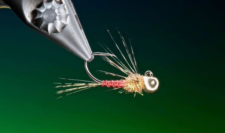 fly tying Brassie Jig nymph